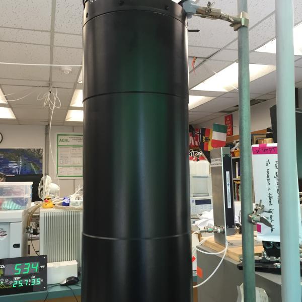 Underwater Mass Spectrometer instrument