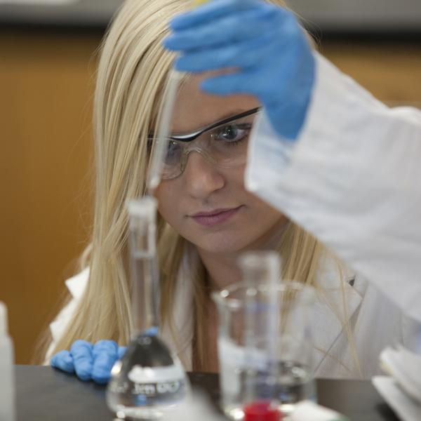 Brittany in lab